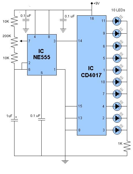 led-sequencer-4017-ne555