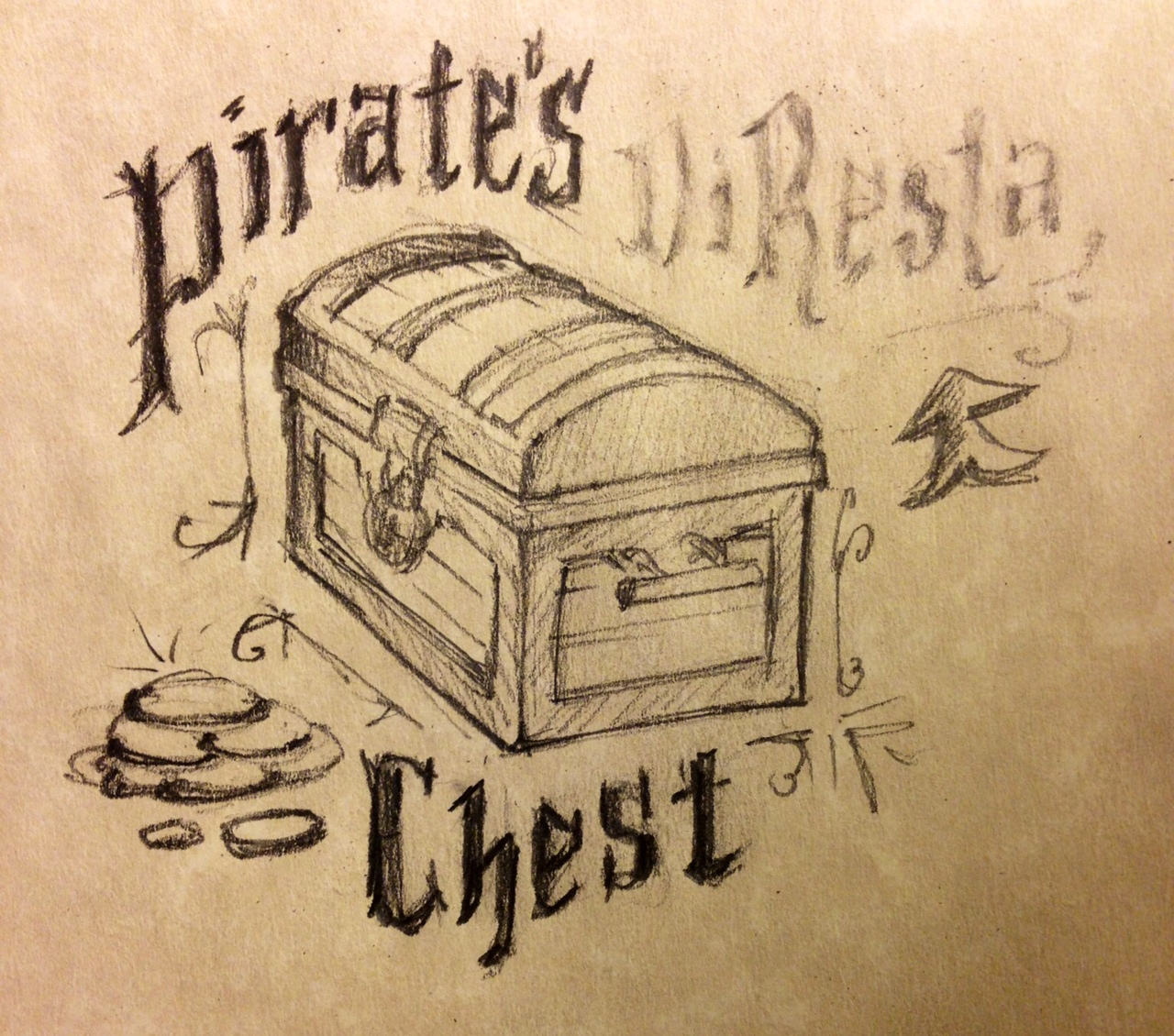 how to make a pirate chest