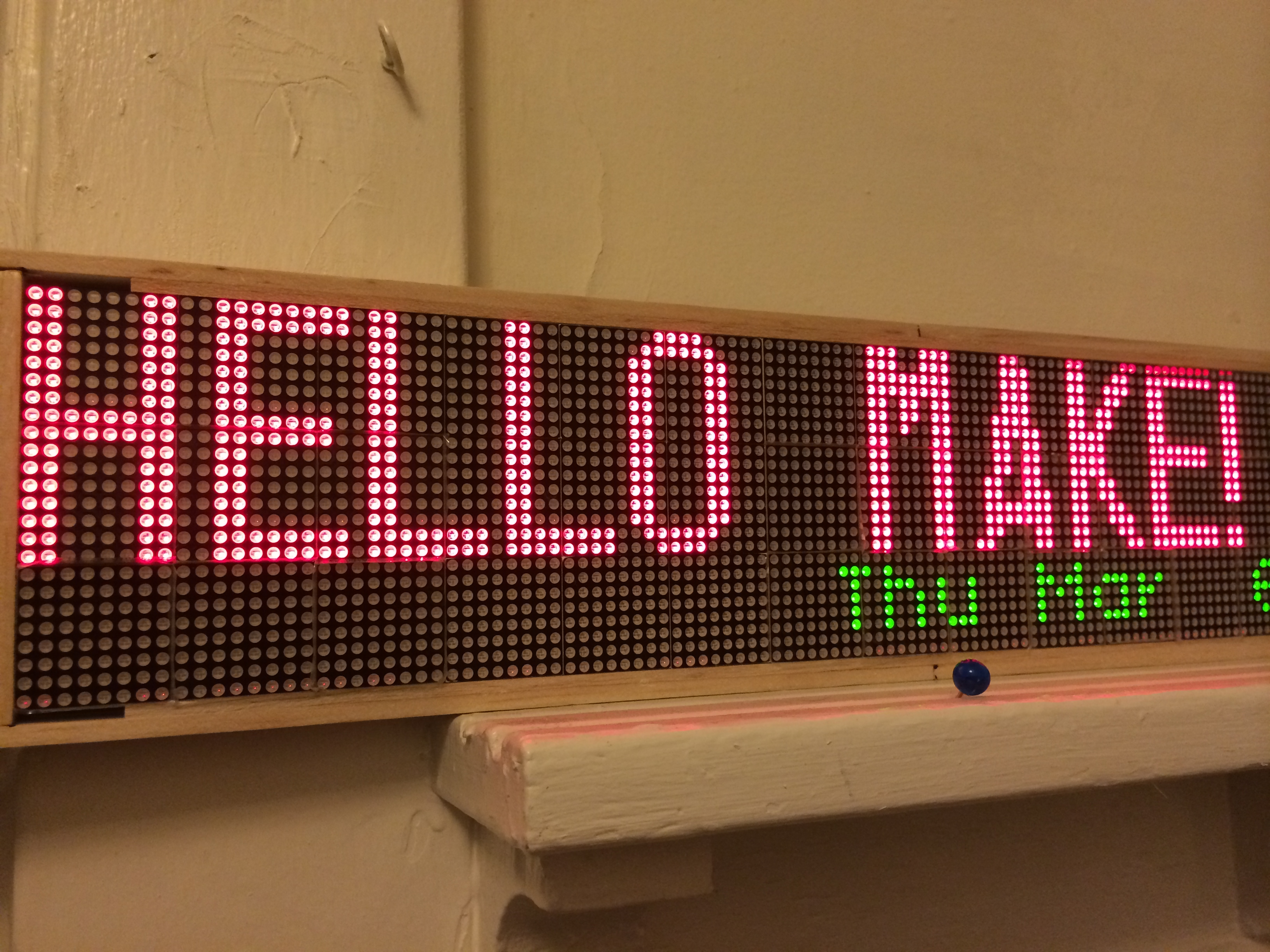 Adventures In Building A Raspberry Pi Led Display Make