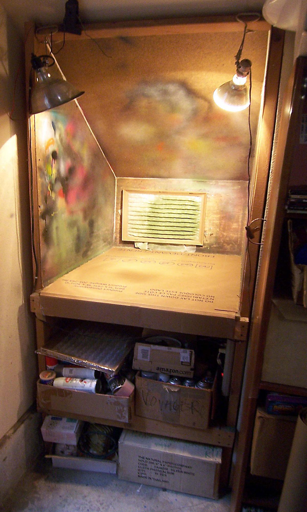Toy Inventor S Notebook Stairwell Spray Booth Make