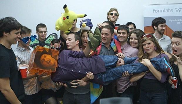 The FormLabs Team Celebrates