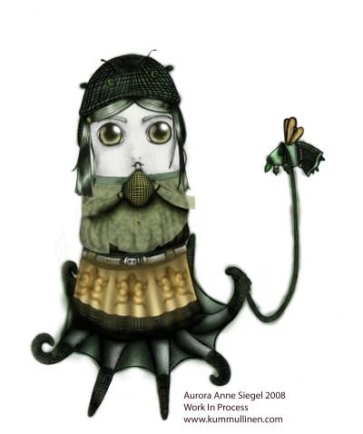 """""""Scottish Octopus"""", by Aurora Anne Siegel"""