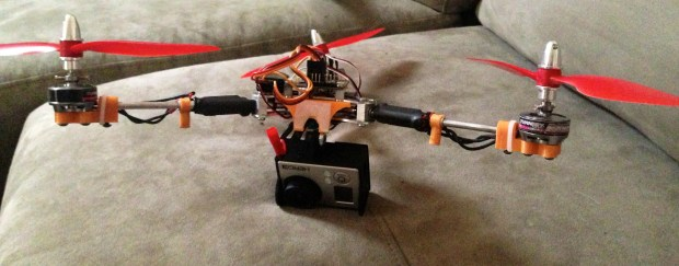 Version 4: Tricopter design introduced.