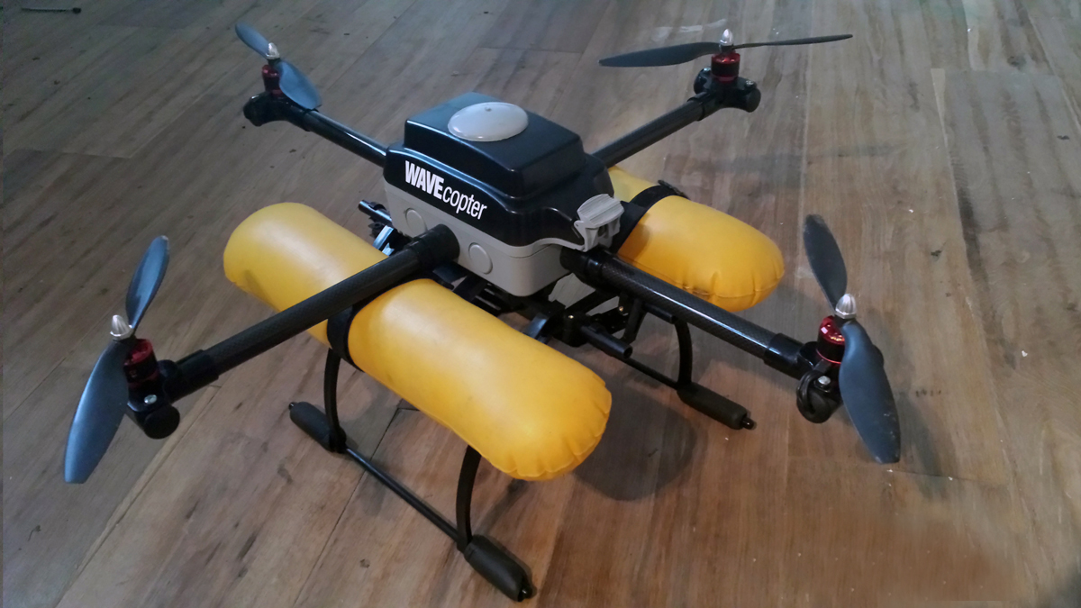 WAVEcopter A Waterproof Quadcopter Make