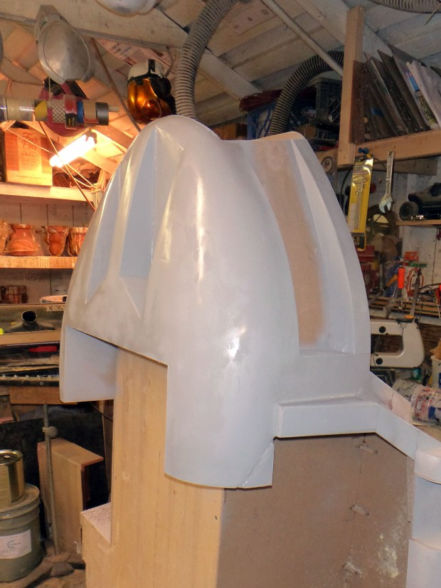 ED's chin in primer.