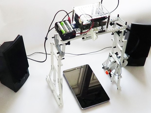 Lego Bookreader: Digitize Books With Mindstorms and Raspberry Pi