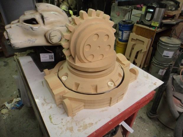Armpit and elbow prototypes taking shape.