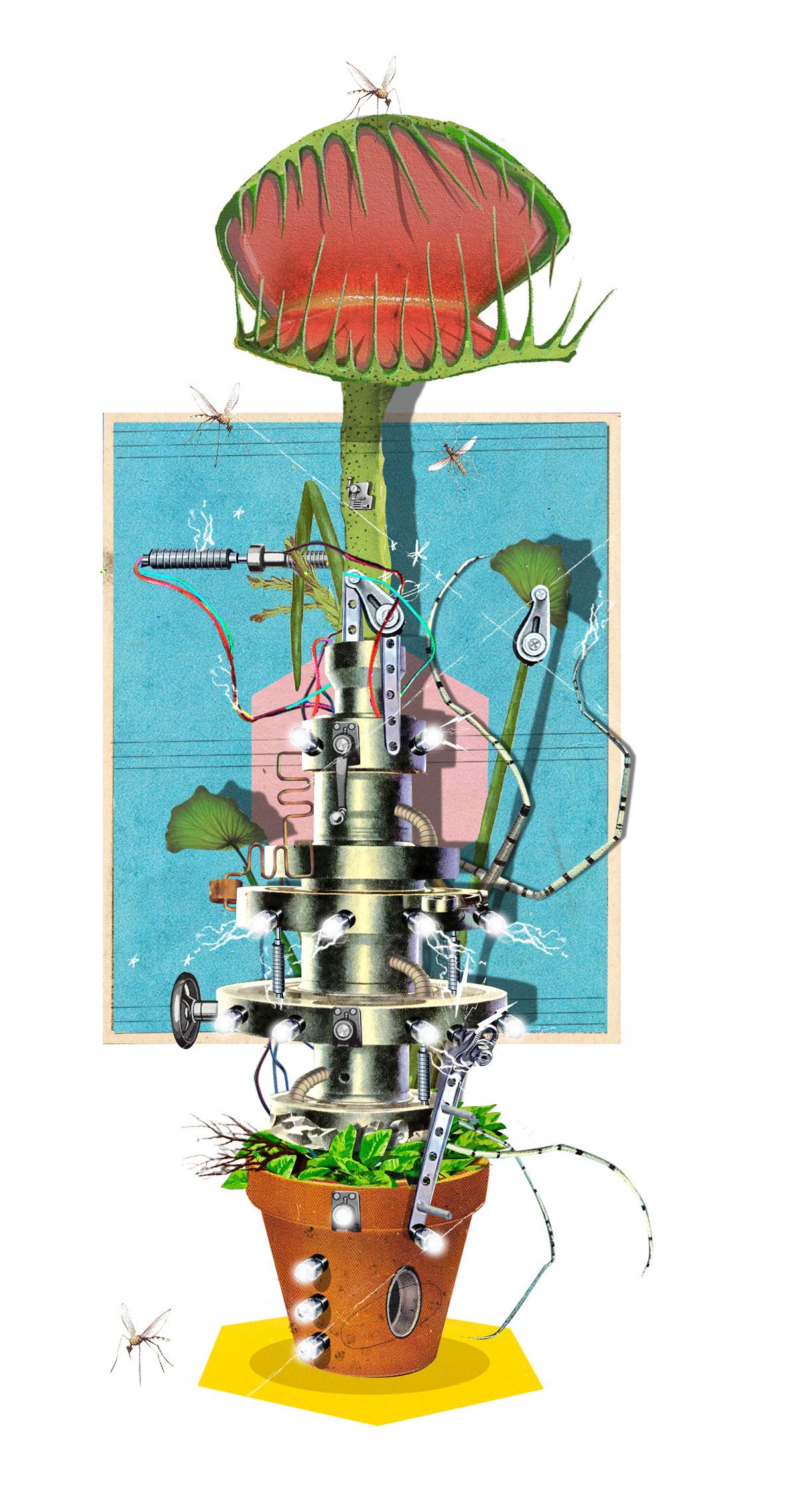 Biorobotics: a Venus Flytrap for Remote Control | Make: on