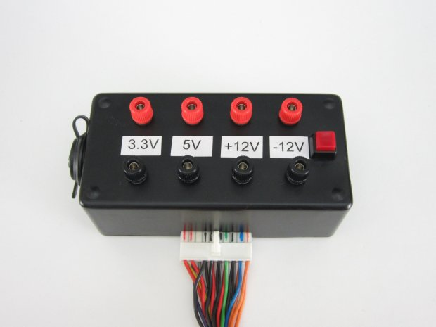 Turn a Computer Power Supply into Bench Power