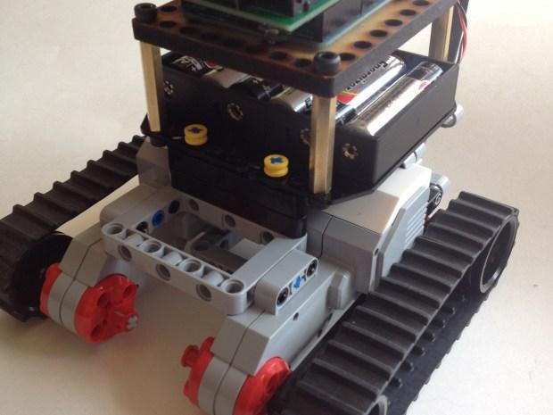 Bricktronics Mini Tank