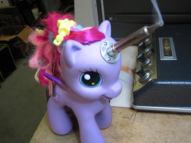 My Little Pony Soldering Unicorn