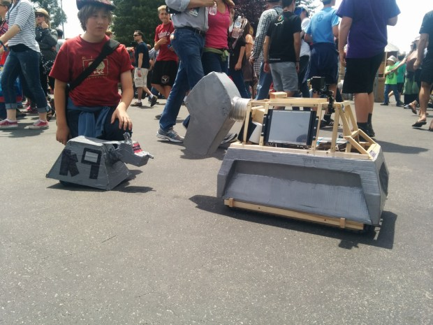 The final K-9 at Maker Faire
