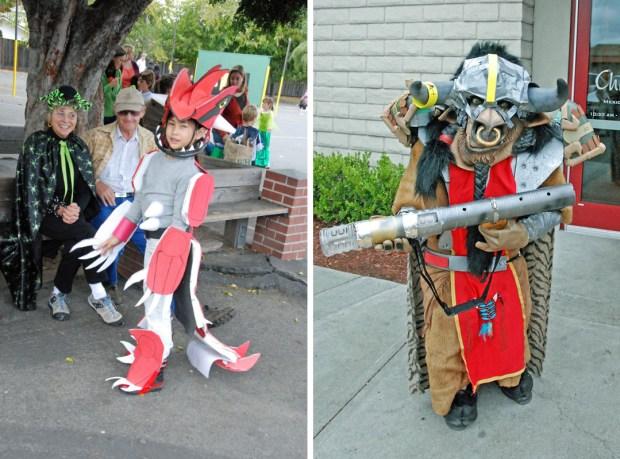 Angela Hawthorne Pokemon Groudon WoW Tauren costumes