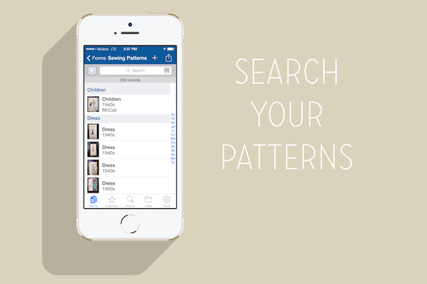 coletterie_organize_sewing_patterns_with_your_phone_02