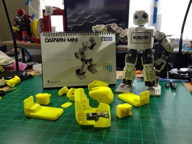 DARwin Mini 3DP