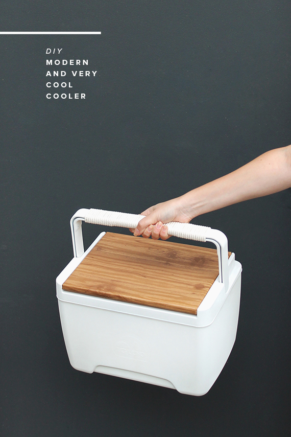 How-To: Modern Faux Wood Cooler