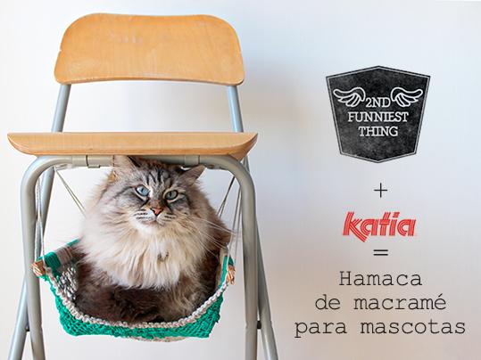 How-To: Macrame Cat Hammock