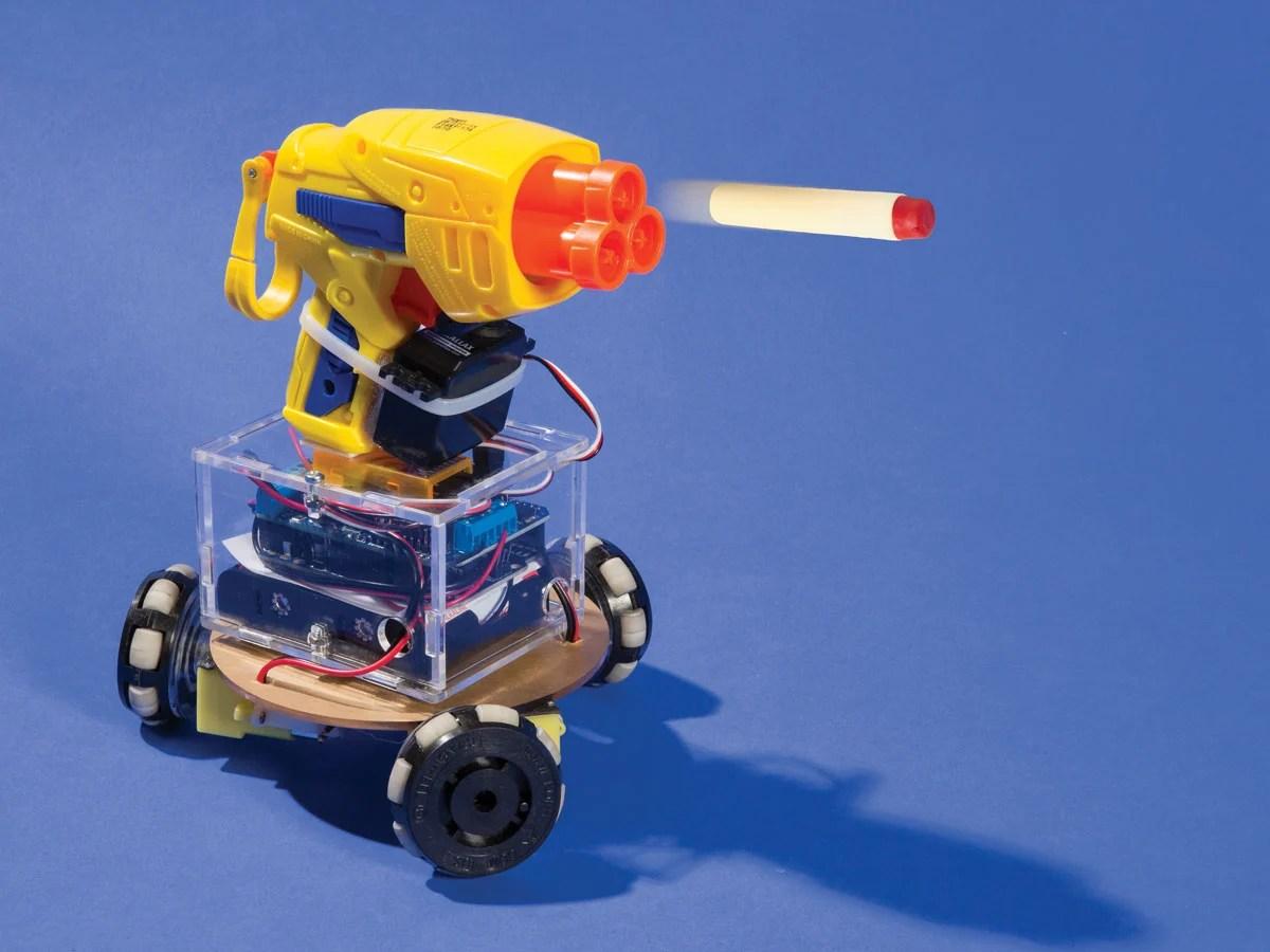 R/C Omniwheel Robot — Electronics | Make: