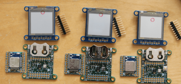 First batch of BlueIoT wearbles before assembly
