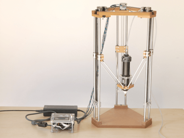 Johnathan Keep's Ceramic Delta 3D Printer: for when projects call for a clay medium