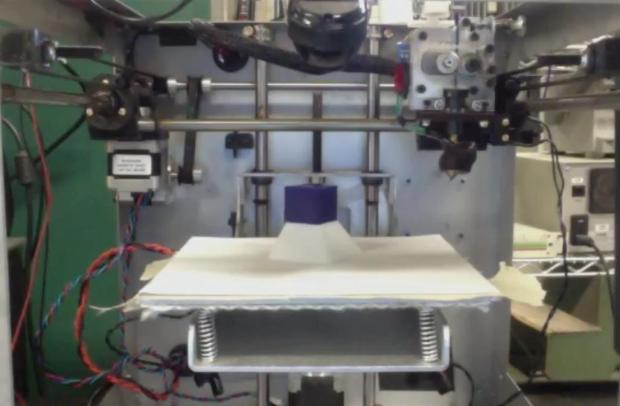 MIT's 'Smart 3D Printer' uses a 3D scanner that locates objects on the print bed and then print on them
