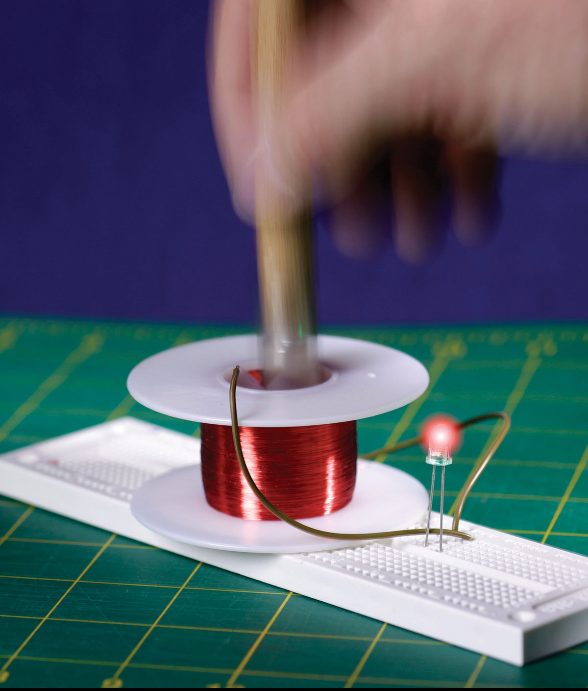 Learning Induction Through Discovery Make This Is A Easy To Build Led Lamp Circuit For And Building
