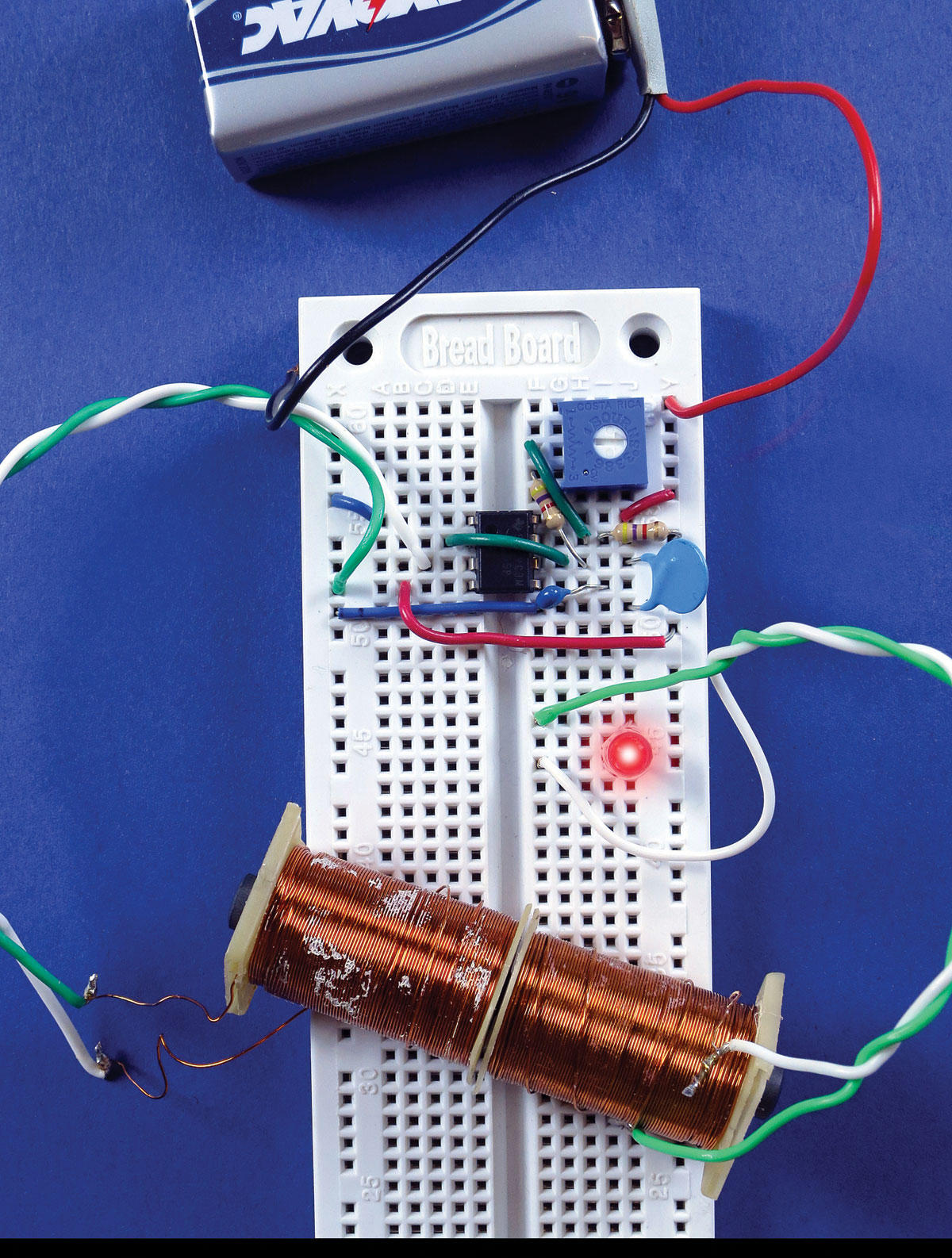 Learning Induction Through Discovery Make Basic Circuit Board Diagram Prototypes Electromagnetic Pistol Figure J