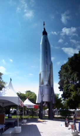 The Atlas rocket is a former ICBM that was used as the orbital launch vehicle for NASA's mercury program.