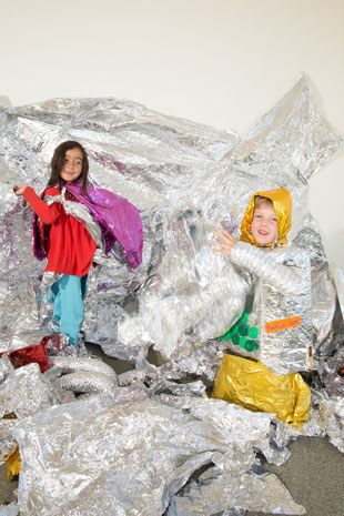 Create Cosmic Couture With Mylar Make