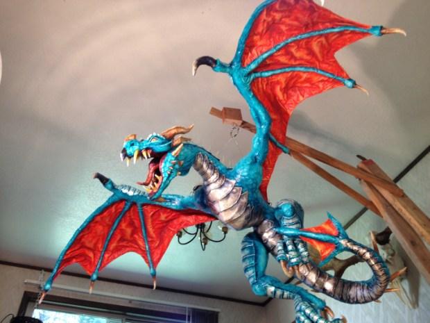 32-Paper-Mache-Dragon