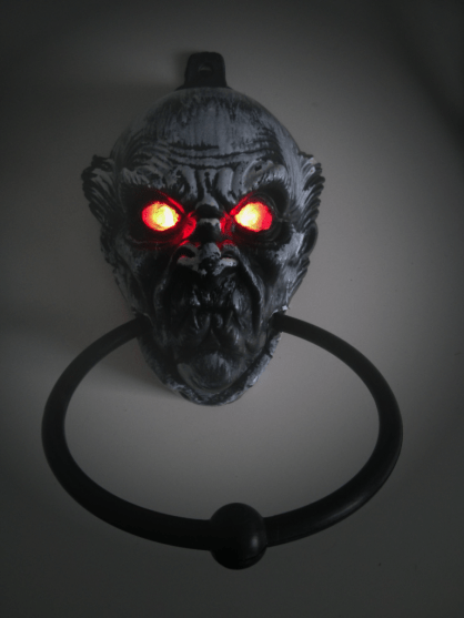 This $5 plastic doorknocker wasn't scary until Digispark made it scary