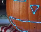 Make a Glowing Jack-EL-Lantern