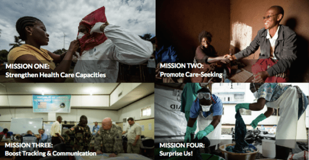 The Four Missions (photos from OpenIDEO.com)
