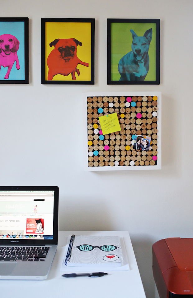 How-To: Wine Cork Bulletin Board