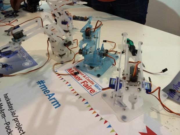 The #meArm—a pocket sized robot arm.