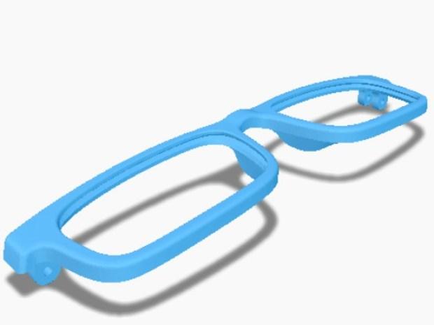 3D-Printed Eyeglasses