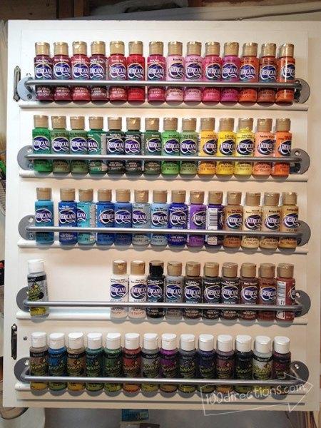 cabinet-door-paint-bottle-organization