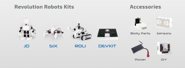EZ-Robot has a full line of kits and parts
