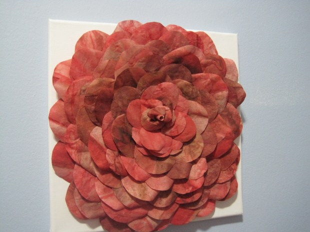 Turn Used Coffee Filters Into Beautiful Flowers