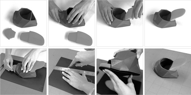 united nude shoe assembly