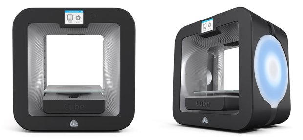 united nude 3D Systems printer