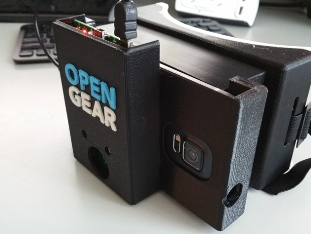 Those that don't want to use OpenGear's cardboard enclosure can 3D print their own thanks to Thingiverse user skyworxx.