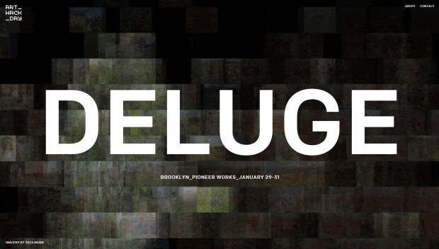 ArtHackDay-DELUGE-web