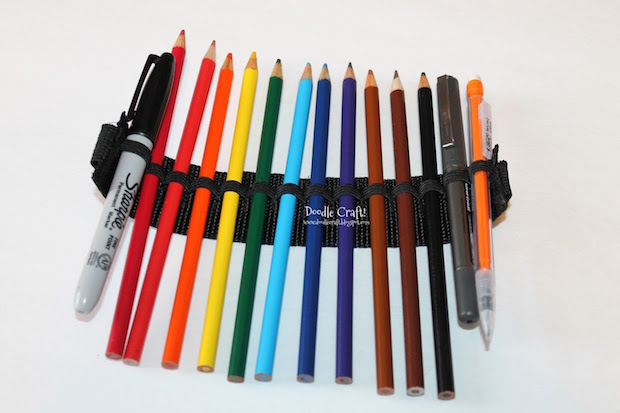 how to write peace in pencil crayon