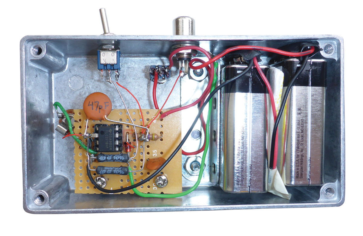 Build A Twilight Photometer To Detect Stratospheric Particles Make Circuit Impedance Formula Photodiode Arduino Diagram Battery Assemble The