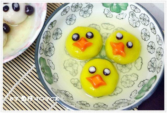 【手作DIY】萌萌噠!黃色小鴨,因為糯米糰剩太多,旺來,心想,圓仔造型湯圓 – 媽媽經|專屬於媽媽的網站