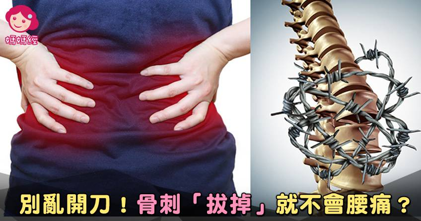 腰痛≠骨刺。千萬別把「內力」用盡 – 媽媽經 專屬於媽媽的網站