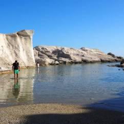 Milos Kitchen Knife 熟女的歐洲旅行 愛琴海的悠閒時光 三 米洛斯島的sarakiniko海岸