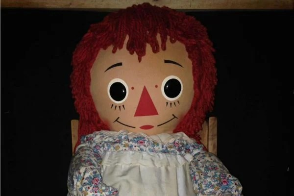real annabelle doll the