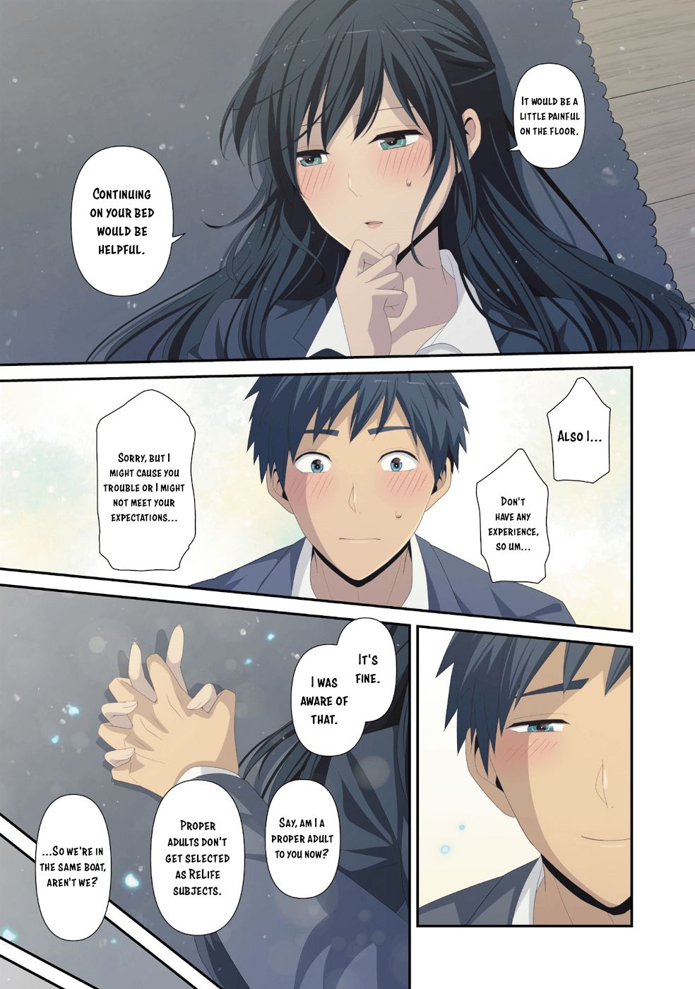 Download Relife Sub Indo : download, relife, ReLIFE,, Chapter, 222.5, ReLIFE, Manga, Online